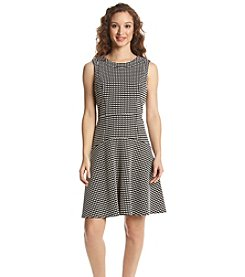Tommy Hilfiger® Gingham Textured Knit Dress
