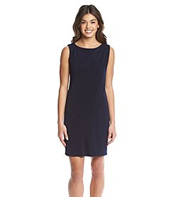 Jessica Simpson Draped Sheath Dress