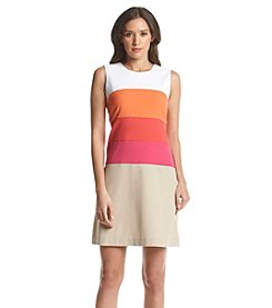 Calvin Klein Colorblock Shift Dress