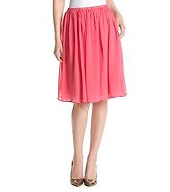 Spense® A-Line Chiffon Skirt