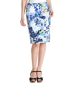 Chelsea & Theodore® Floral Print Skirt