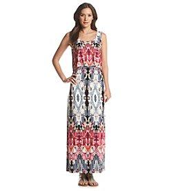 Chelsea & Theodore® Tank Overlay Maxi Dress