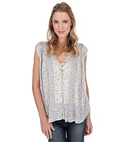 Lucky Brand® Milan Printed Top