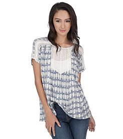 Lucky Brand® Crochet Bib Top