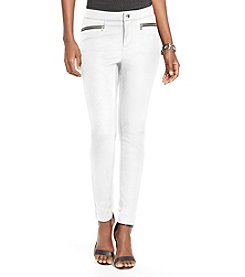Lauren Ralph Lauren® Zip Pocket Skinny Pants