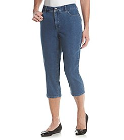 Laura Ashley® Bling Pocket Denim Crops