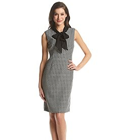 Kasper® Tie-Neck Sleeveless Dress