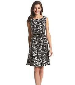 Kasper® Dot Print Dress