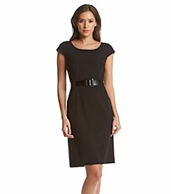 Tahari ASL® Belted Dress
