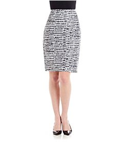 Calvin Klein Abstract Print Skirt