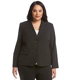 Nine West® Plus Size Solid Basic Jacket