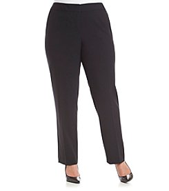 Nine West® Plus Size Solid Basic Pants