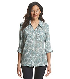 Notations® Printed Blouse