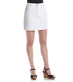 Le Tigre Denim Skirt