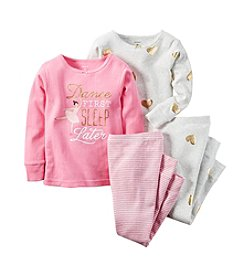 Carter's® Baby Girls' Dance First Sleep Later Pajamas Set