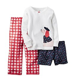 Carter's® Girls' 7-16 Dog Pajamas Set