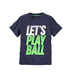 Carter's® Boys' 2T-7 'Let's Play Ball' Short Sleeve Tee