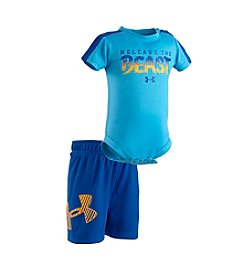 Under Armour® Baby Boys 'Release The Beast' Bodysuit And Short Set