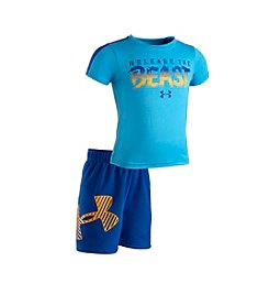 Under Armour® Baby Boys 'Release The Beast' Tee And Short Set