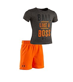 Under Armour® Baby Boys 'Ball Like A Boss' Shirt And Short Set
