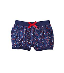 mix&MATCH Baby Girls' Firecracker Printed Knit Bubble Shorts