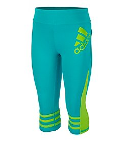 adidas® Girls' 2T-6X Be Free Capri Leggings