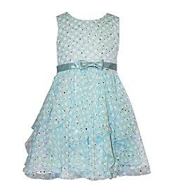 Bonnie Jean® Girls' 2T-6X Sparkle Dot Printed Dress