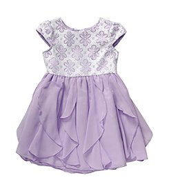 Sweet Heart Rose® Girls' 2T-6X Lace And Ruffle Dress