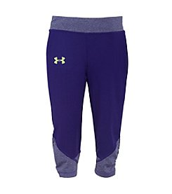 Under Armour® Girls' 2T-6X Game Changer Capri Leggings