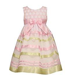 Bonnie Jean® Girls' 2T-6X Embroidered Ribbon Dress
