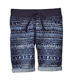 Miss Attitude Girls' 7-16 Geo Printed Bermuda Shorts