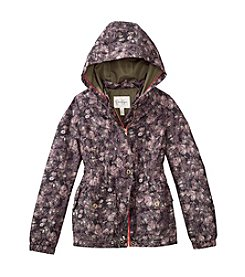 Jessica Simpson Girls' 7-16 Camo Anorak