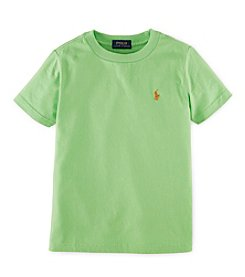 Ralph Lauren Childrenswear Boys' 2T-7 Short Sleeve Jersey Tee