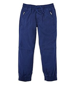 Ralph Lauren Childrenswear Boys' 2T-7 Canvas Jogger Pants