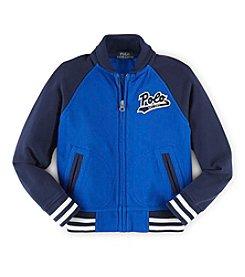 Ralph Lauren Childrenswear Boys' 2T-7 Long Sleeve Baseball Jacket