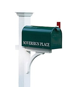 Good Directions® Lazy Hill Farm Designs Sovereign Mailbox Post