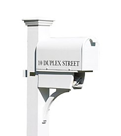 Good Directions® Lazy Hill Farm Designs Duplex Mailbox Post