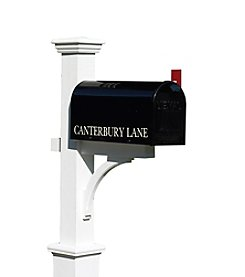 Good Directions® Lazy Hill Farm Designs Canterbury Mailbox Post