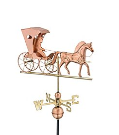 Good Directions® Polished Copper Country Doctor Weathervane