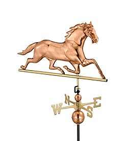 Good Directions® Polished Copper Horse Weathervane