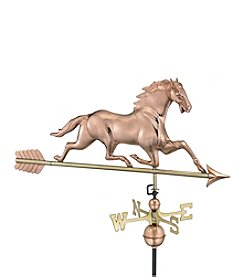 Good Directions® Polished Copper Horse Weathervane with Arrow