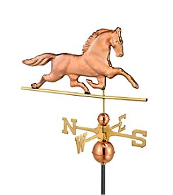 Good Directions® Polished Copper Patchen Horse Weathervane
