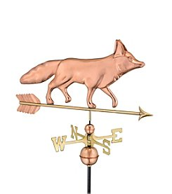 Good Directions® Polished Copper Fox Weathervane