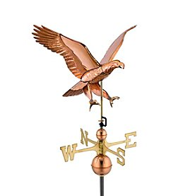 Good Directions® Polished Copper Attack Eagle Weathervane