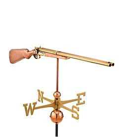 Good Directions® Polished Copper Shotgun Weathervane