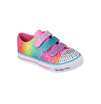 "Skechers® Girls' ""Twinkle Toes: Chit Chat - Rainbow Madn"
