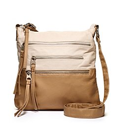 GAL Colorblocked Multi Zip Crossbody