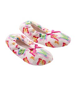 Fuzzy Babba® Lightweight Butterfly Slippers