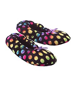 Fuzzy Babba® Lightweight Dot Slippers