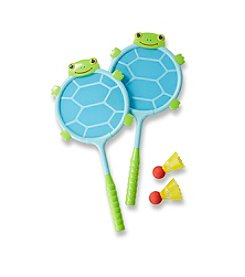 Melissa & Doug® Dilly Dally Turtle Racquet & Ball Set